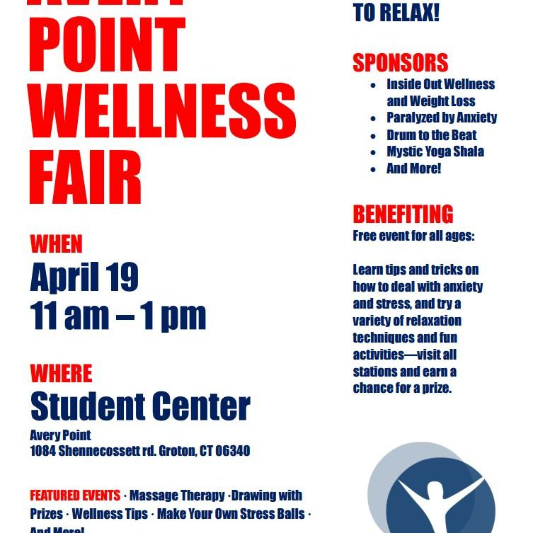 Avery Point Wellness Fair Flier