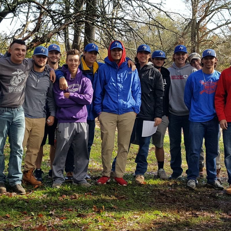 AP Baseball Team at Beech Brook