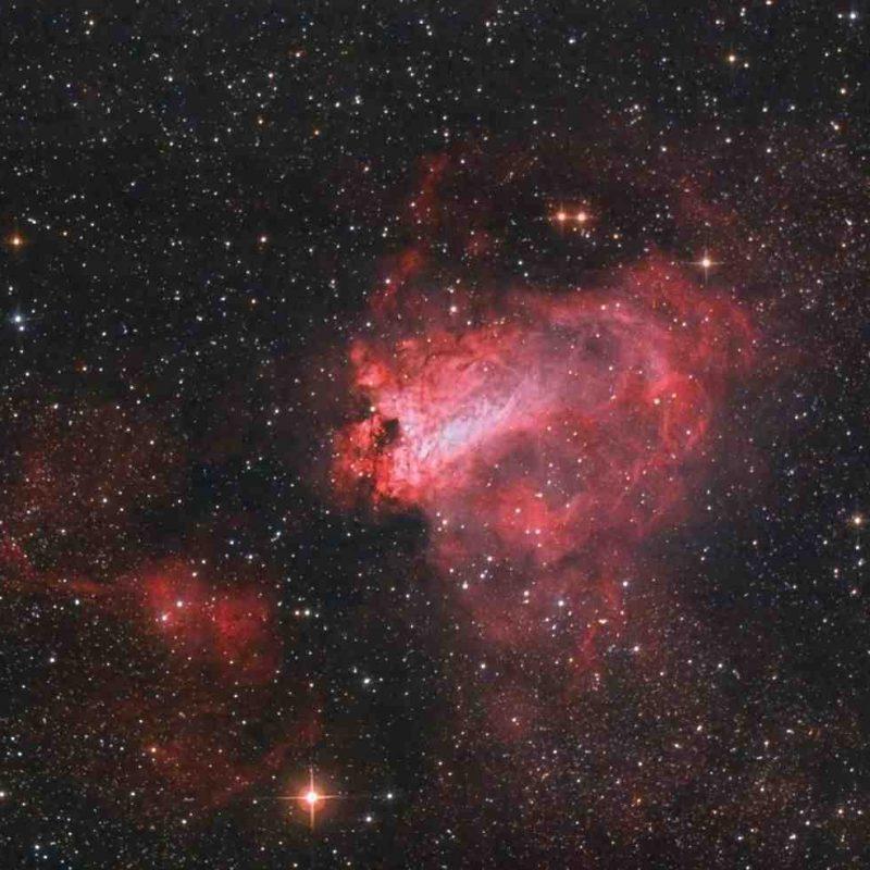 PHYS 1020 telescope photo